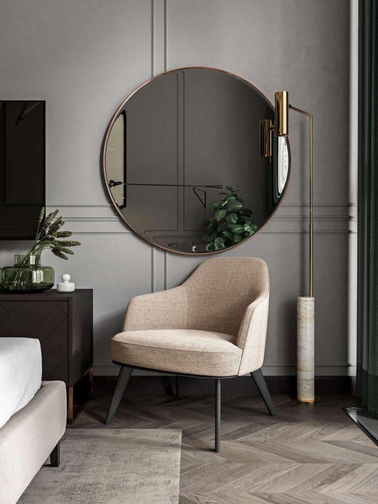 30 идей интерьера гостиной неоклассика