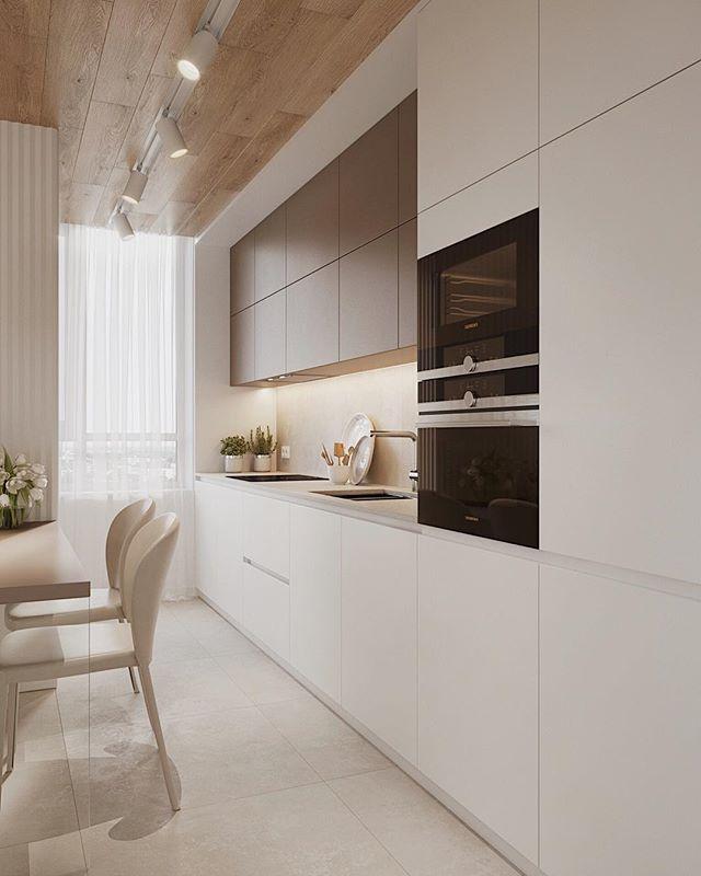 40 фото интерьера Кухни в Сливочных Тонах
