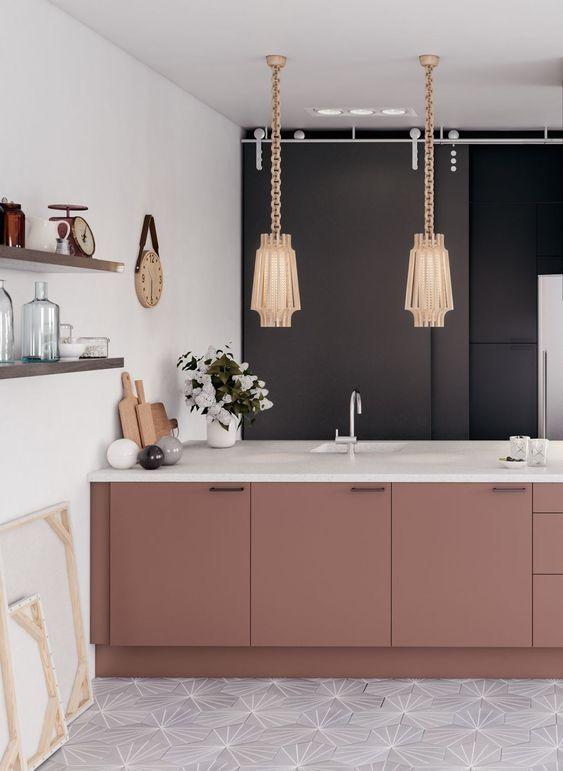 40+ идей интерьера яркой кухни