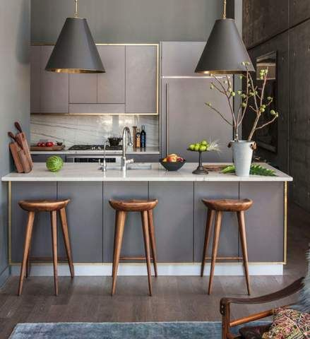 40+ удивительных интерьеров Кухни в Студии