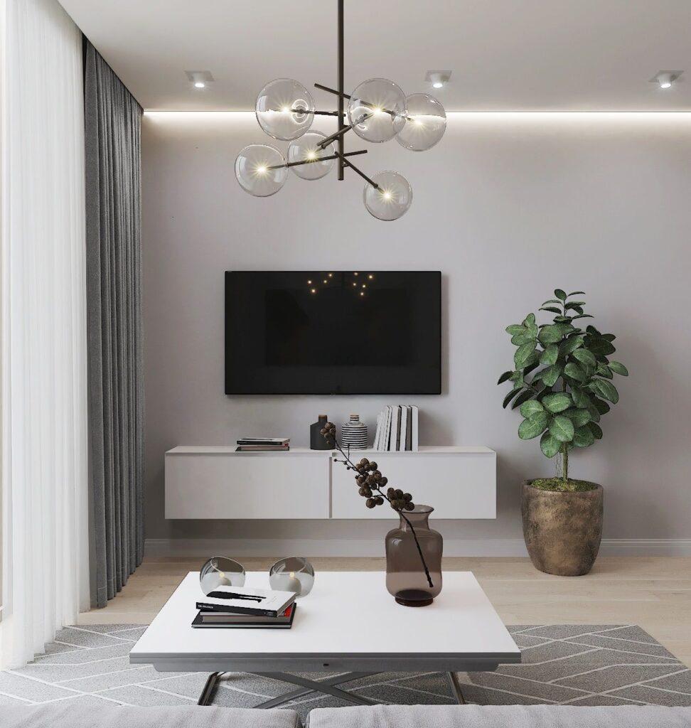 54 идеи интерьера гостиной в стиле минимализм