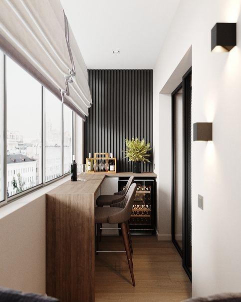 25 Идей Интерьера Балкона с Кухней