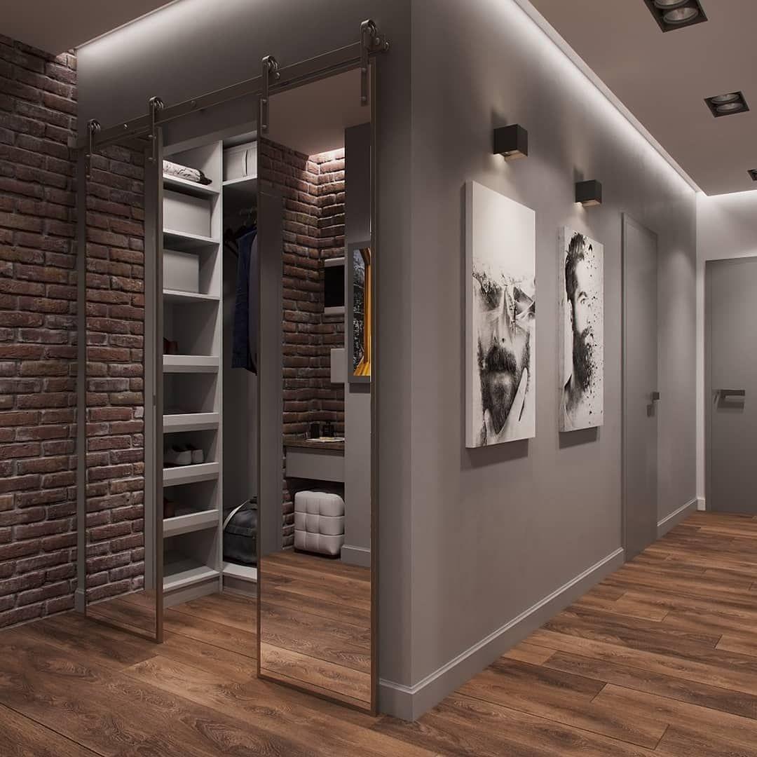 любительница природы дизайн коридора с гардеробной в квартире фото салона
