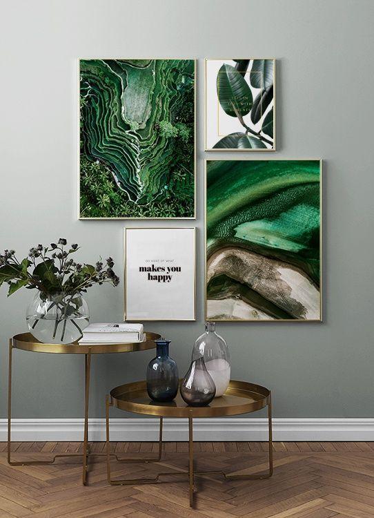 34 Идеи Использования Изображения Растений в Интерьере