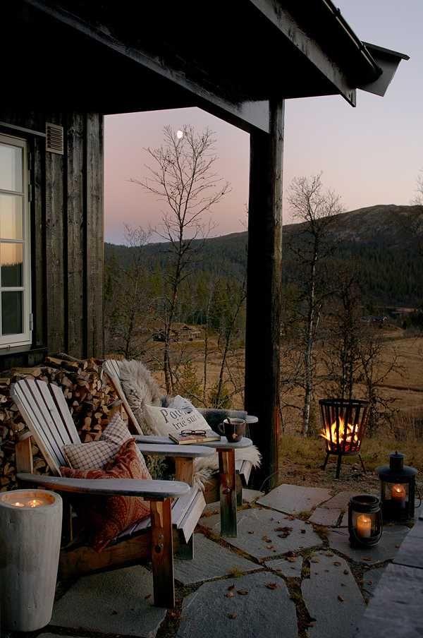 14 фото уютной террасы с видом на лес