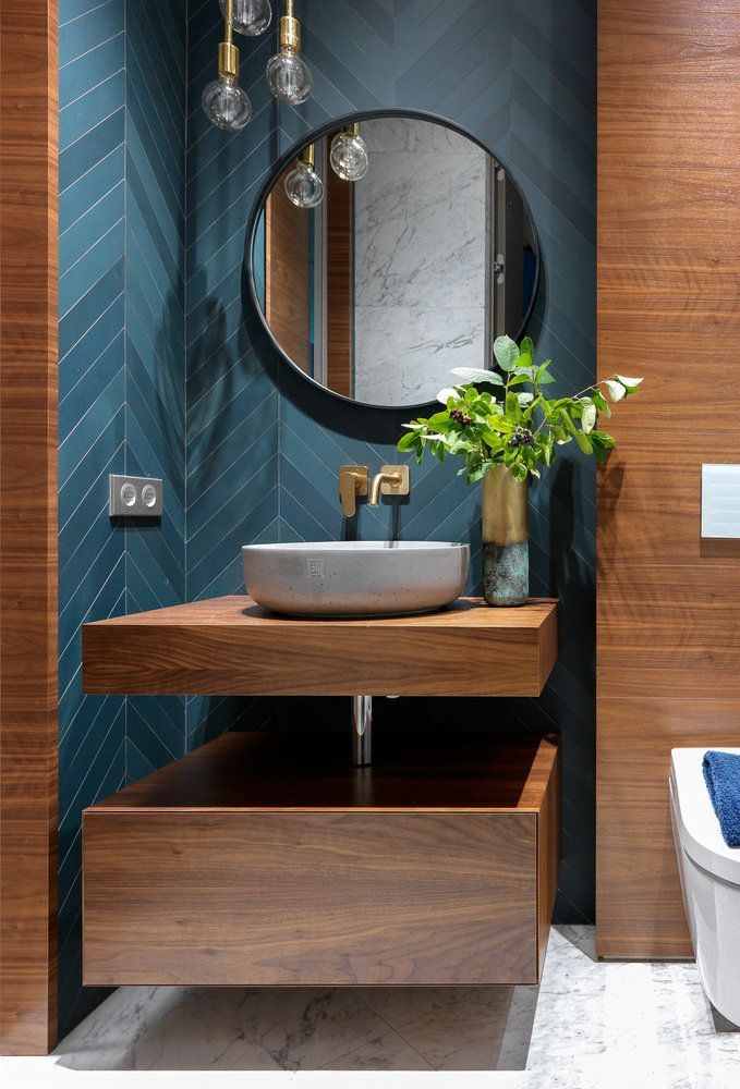 16 Идей Современной Ванной Комнаты ⭐